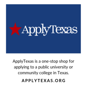 ApplyTexas, logo and message